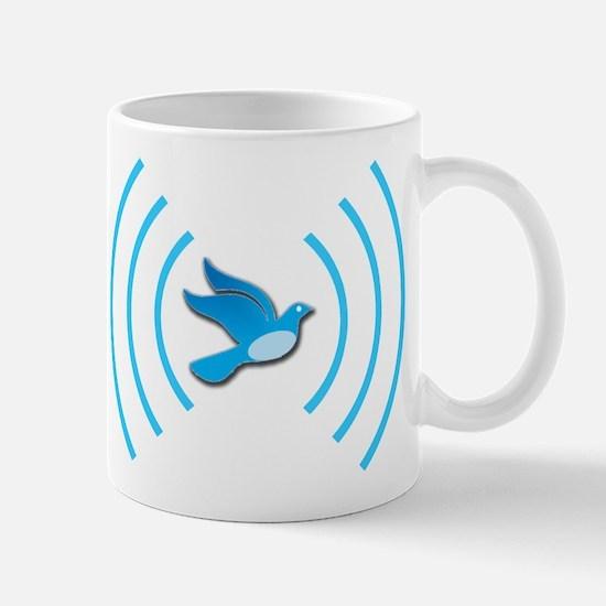 Broadcasting Twit - Mug