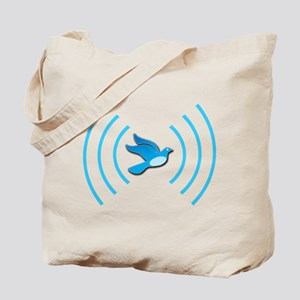 Broadcasting Twit - Tote Bag