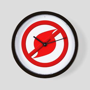 No more Hurricanes Wall Clock