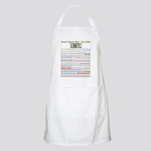 Personal Financial Advice fro BBQ Apron