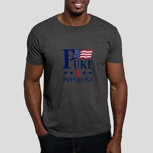 Puke 4 President Dark T-Shirt