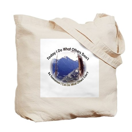 I Climbed Long s Peak Tote Bag