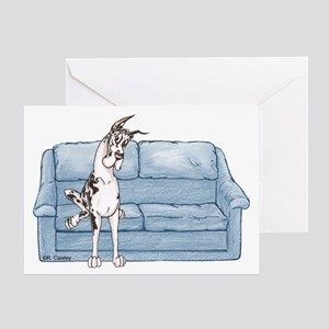 CH Couch Sit Greeting Card