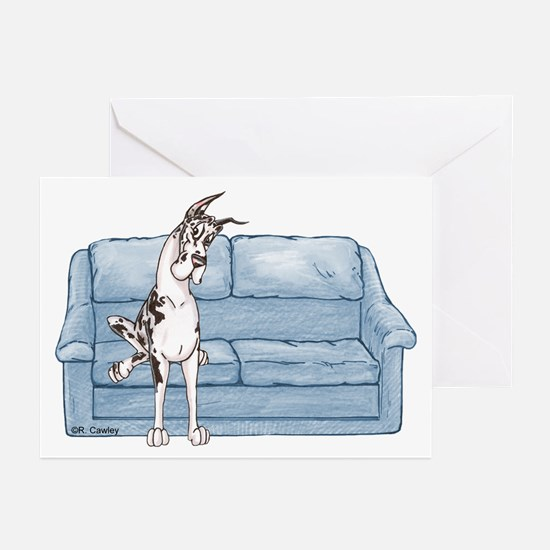 CH Couch Sit Greeting Cards (Pk of 10)
