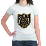USS NOA Jr. Ringer T-Shirt