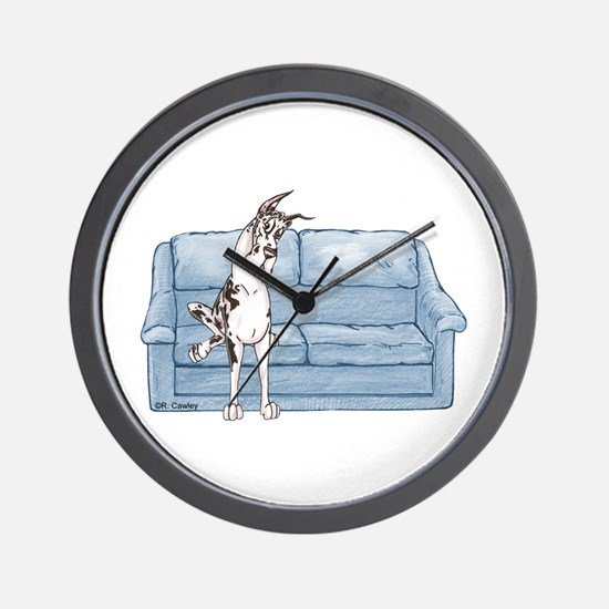 CH Couch Sit Wall Clock