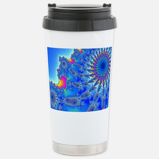 Ferris Wheel Fractal Stainless Steel Travel Mug
