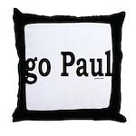 go Paul Throw Pillow