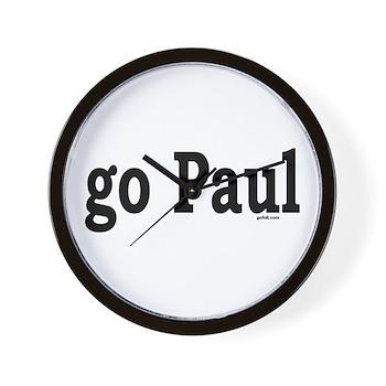 go Paul Wall Clock