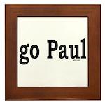 go Paul Framed Tile