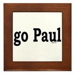 go Paul Framed Tile