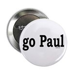 "go Paul 2.25"" Button (100 pack)"