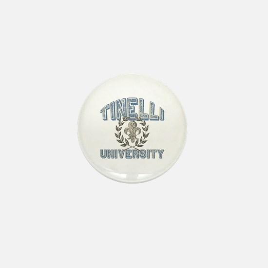 Tinelli Last Name University Mini Button