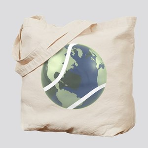 Tennis World Tote Bag