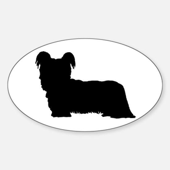 Skye Terrier Sticker (Oval)