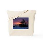 Winter Sunset 0020 Tote Bag