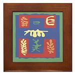 Artsy Tiles Framed Tile