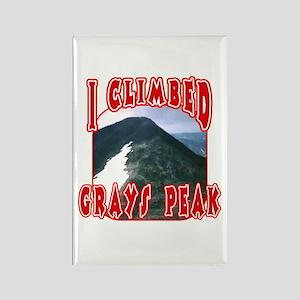 I Climbed Grays Peak Rectangle Magnet