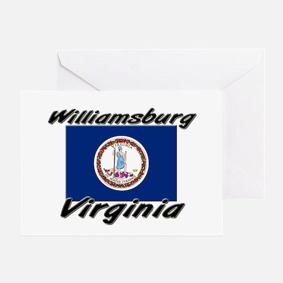 Williamsburg virginia Greeting Card