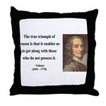 Voltaire 14 Throw Pillow