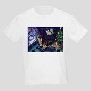 AUSTRALIAN TERRIER christmas  Kids T-Shirt