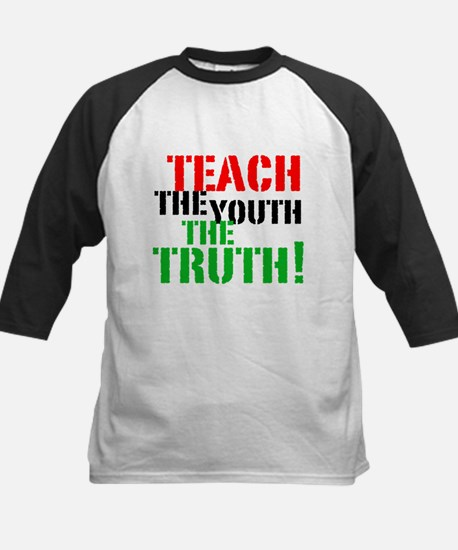 Teach the Youth . . . Kids Baseball Jersey
