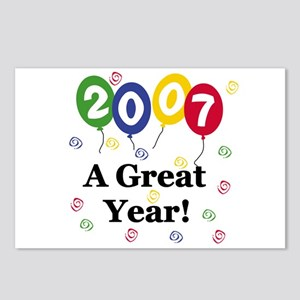 2007 a Great Year Postcards (Package of 8)