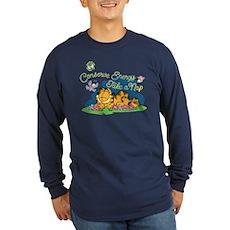 Conserve Energy Long Sleeve Dark T-Shirt