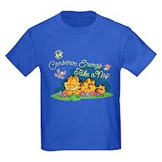 Conserve Energy Kids Dark T-Shirt