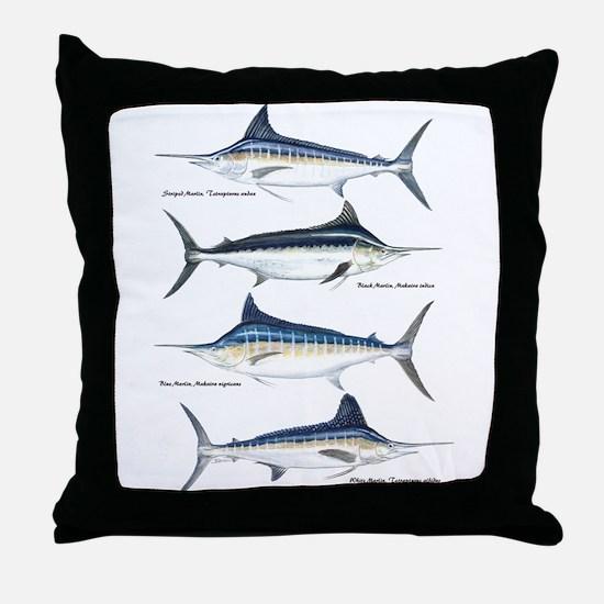 4 Marlin Throw Pillow
