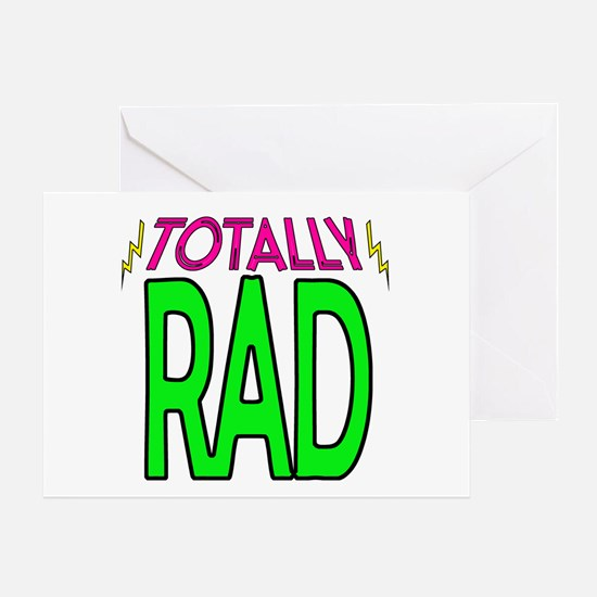 'Totally Rad' Greeting Card
