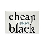 Cheap is the New Black - Rectangle Magnet