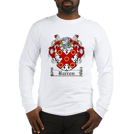 Barron Coat of Arms Long Sleeve T-Shirt