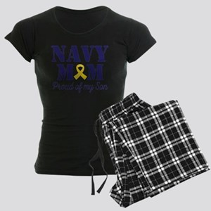 Navy Mom Proud Son Pajamas