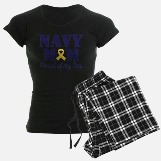 Navy Mom Proud Son Pajamas