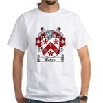 Bates Coat of Arms White T-Shirt