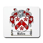 Bates Coat of Arms Mousepad