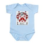 Bates Coat of Arms Infant Creeper