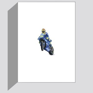 Racing Biker #2 Greeting Card
