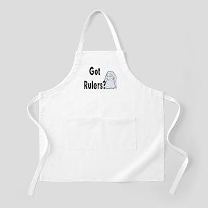 Got Rulers? Items BBQ Apron