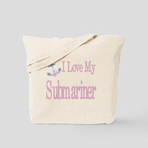 i love my submariner Tote Bag