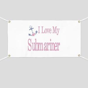 i love my submariner Banner