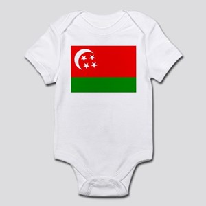 Comoros Flag (1975) Infant Bodysuit