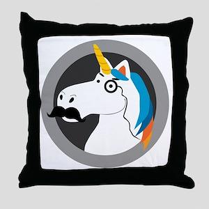 Baron Cornelius Van Horn Throw Pillow