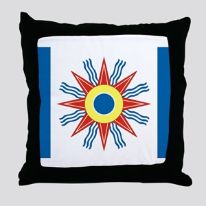 Chaldean Flag Throw Pillow