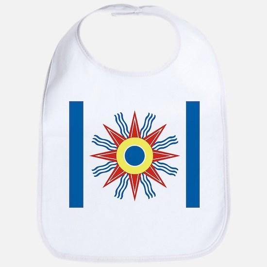 Chaldean Flag Bib