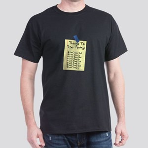 To Do List Dark T-Shirt