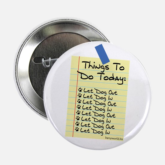 """To Do List 2.25"""" Button (10 pack)"""