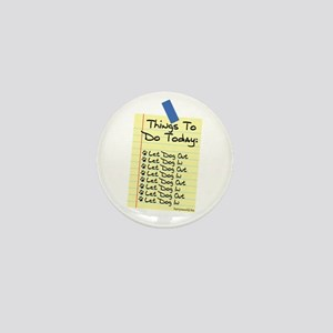 To Do List Mini Button (10 pack)