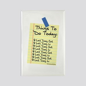 To Do List Rectangle Magnet (10 pack)